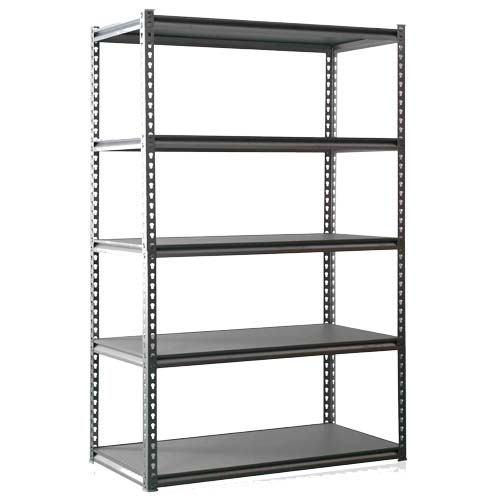 5 Layers Boltless Shelving Grey Color Garage Shelving